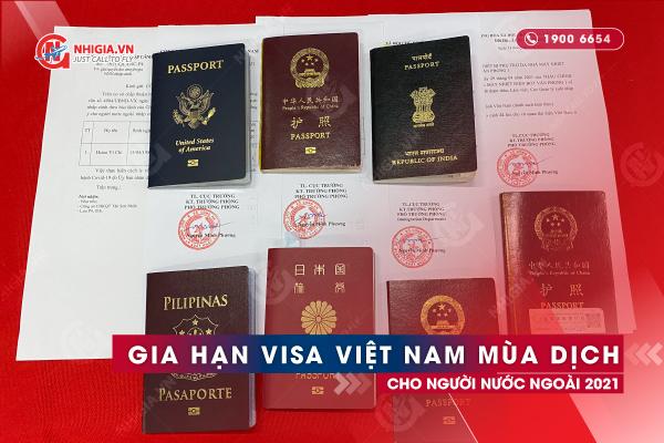 Gia hạn visa Việt Nam cho người Nhật Bản
