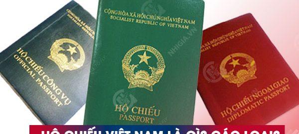 Hộ chiếu Việt Nam - Các loại