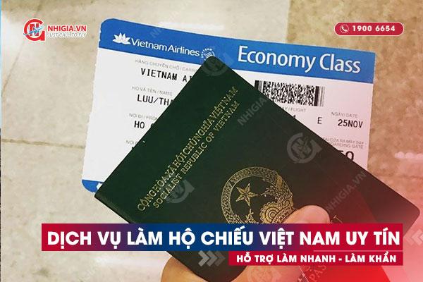 Dịch vụ làm hộ chiếu Việt Nam