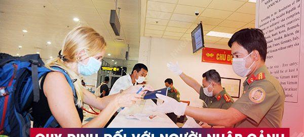 Quy định đối với người nhập cảnh vào TP Hồ Chí Minh từ 1-10