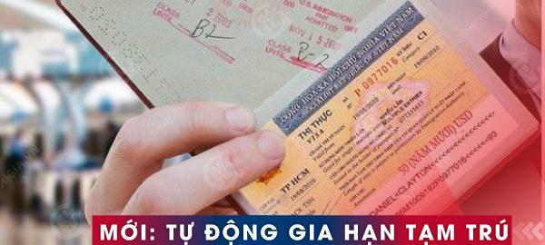 Tiếp tục tự động gia hạn tạm trú cho người nước ngoài
