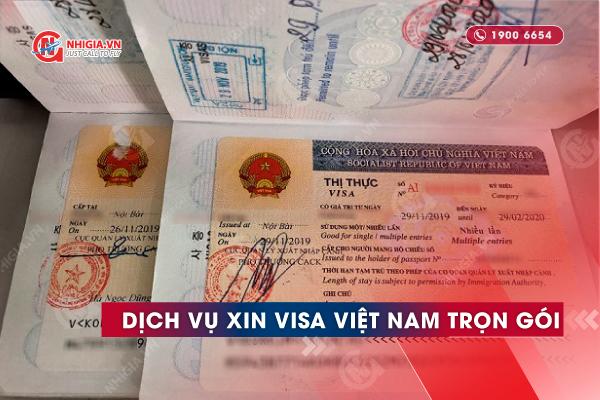 Dịch vụ visa Việt Nam tại Nhị Gia