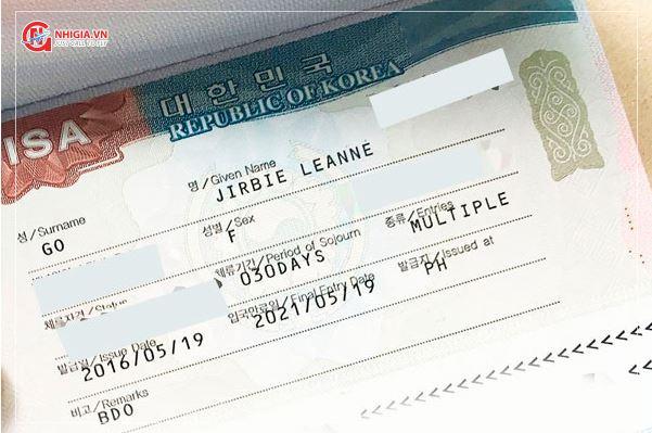 Visa Hàn Quốc 5 năm cho người Việt